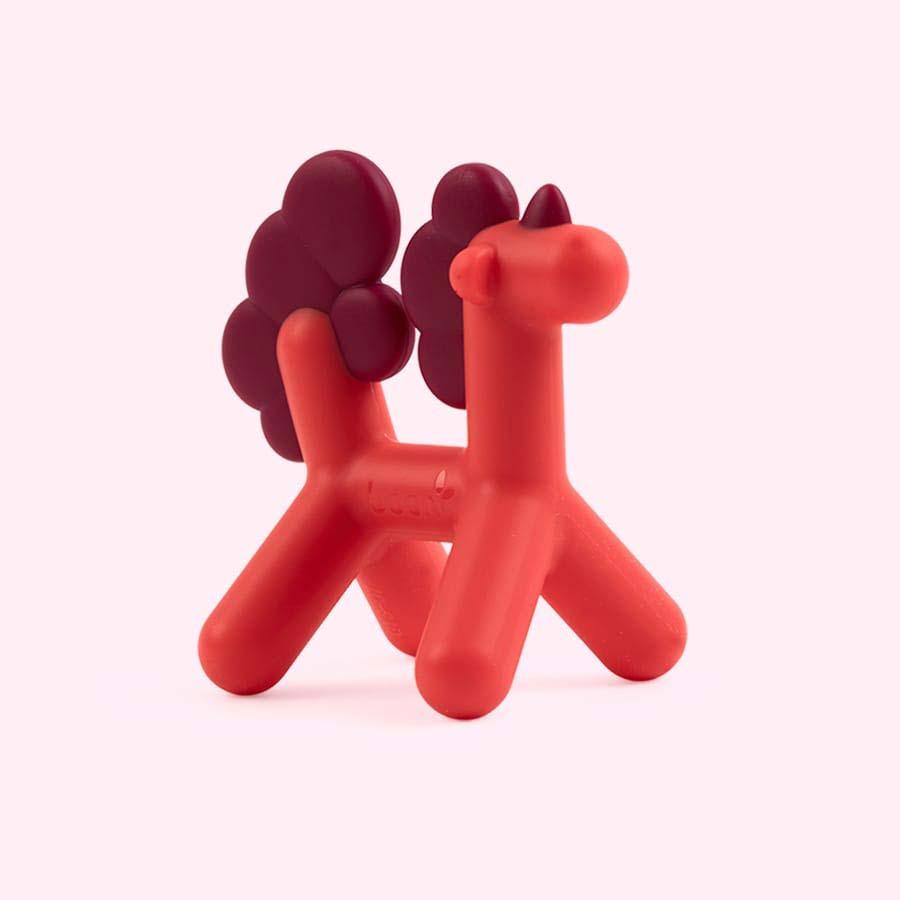 Pink Boon PRANCE Unicorn Teether