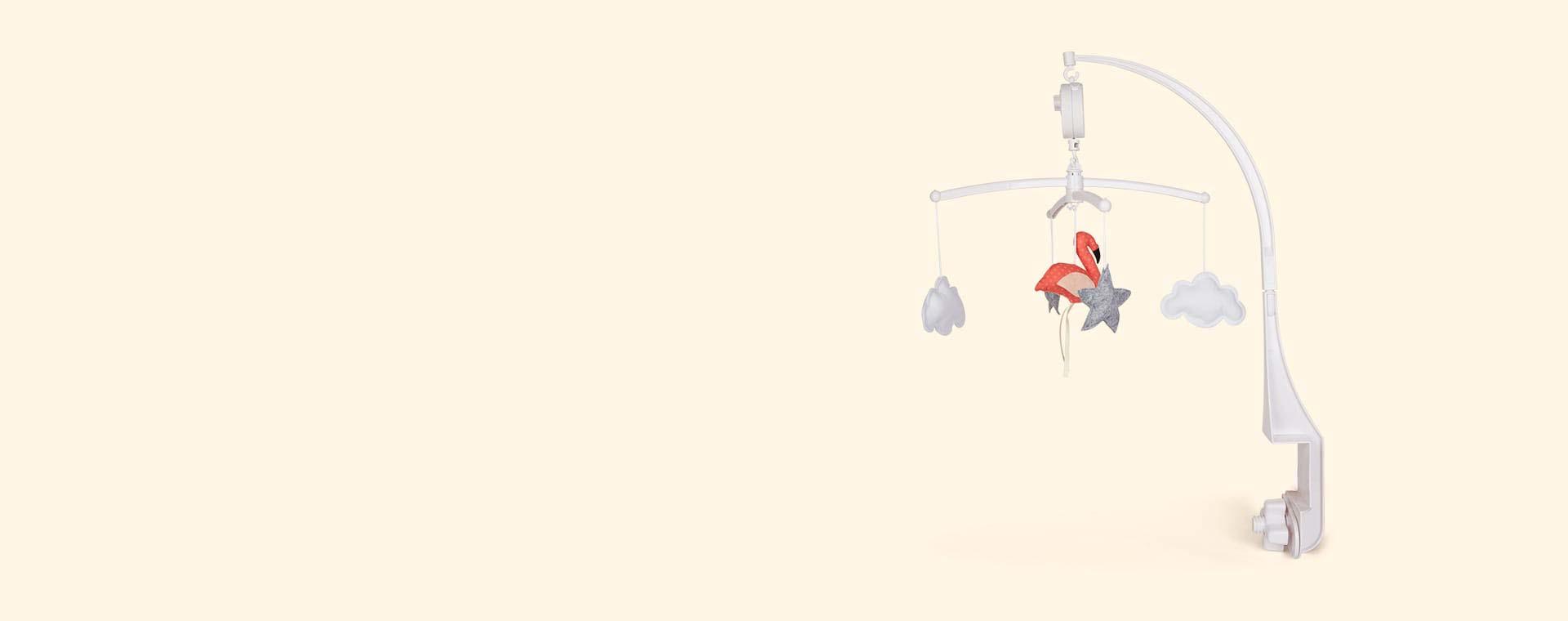 Coral Pouce Et Lina Flamingo Mobile