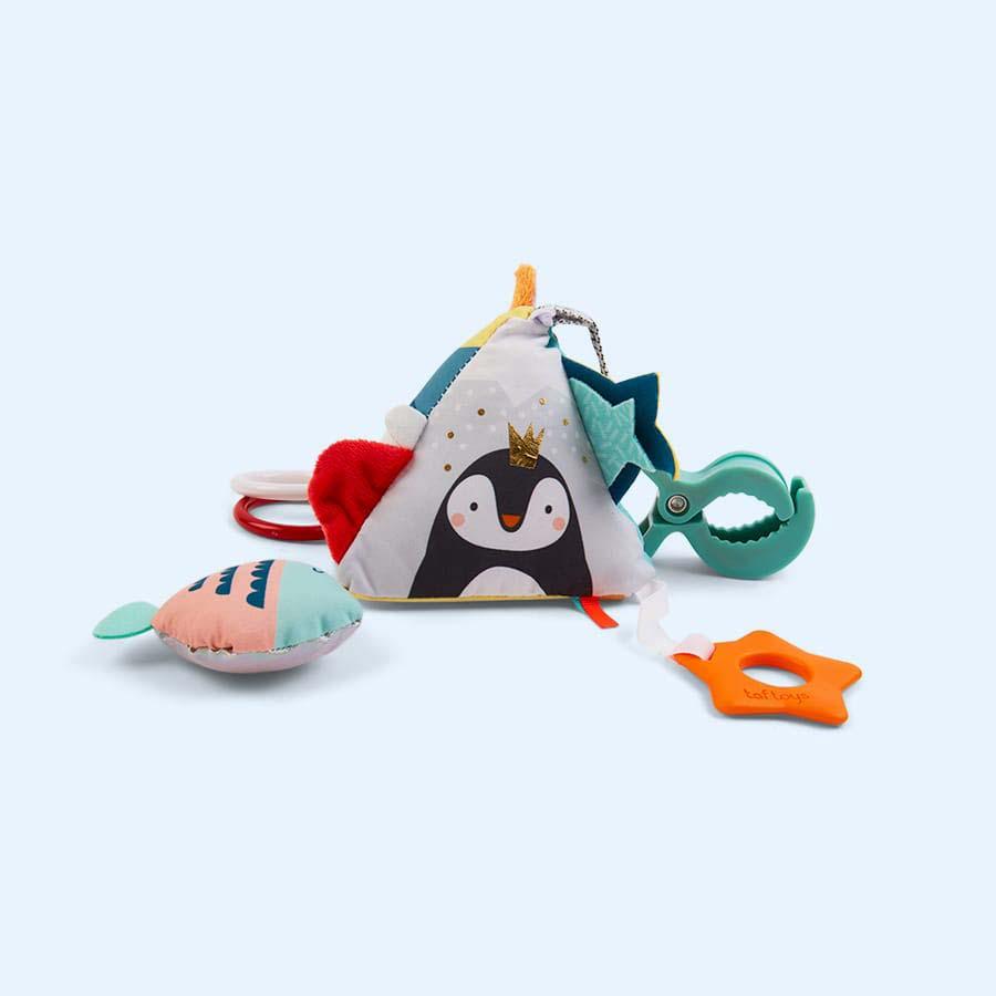 Multi taf toys North Pole Pyramid Clip On Toy