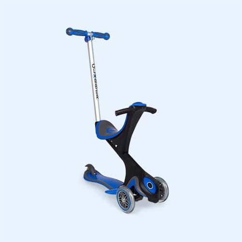 Navy Blue Globber Evo Comfort Scooter