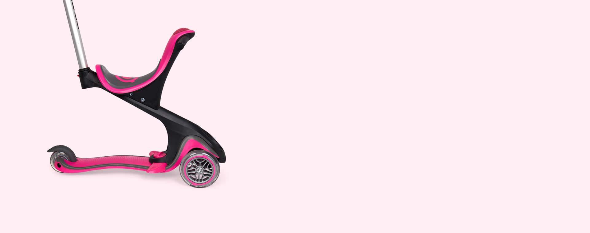 Deep Pink Globber Evo Comfort Scooter
