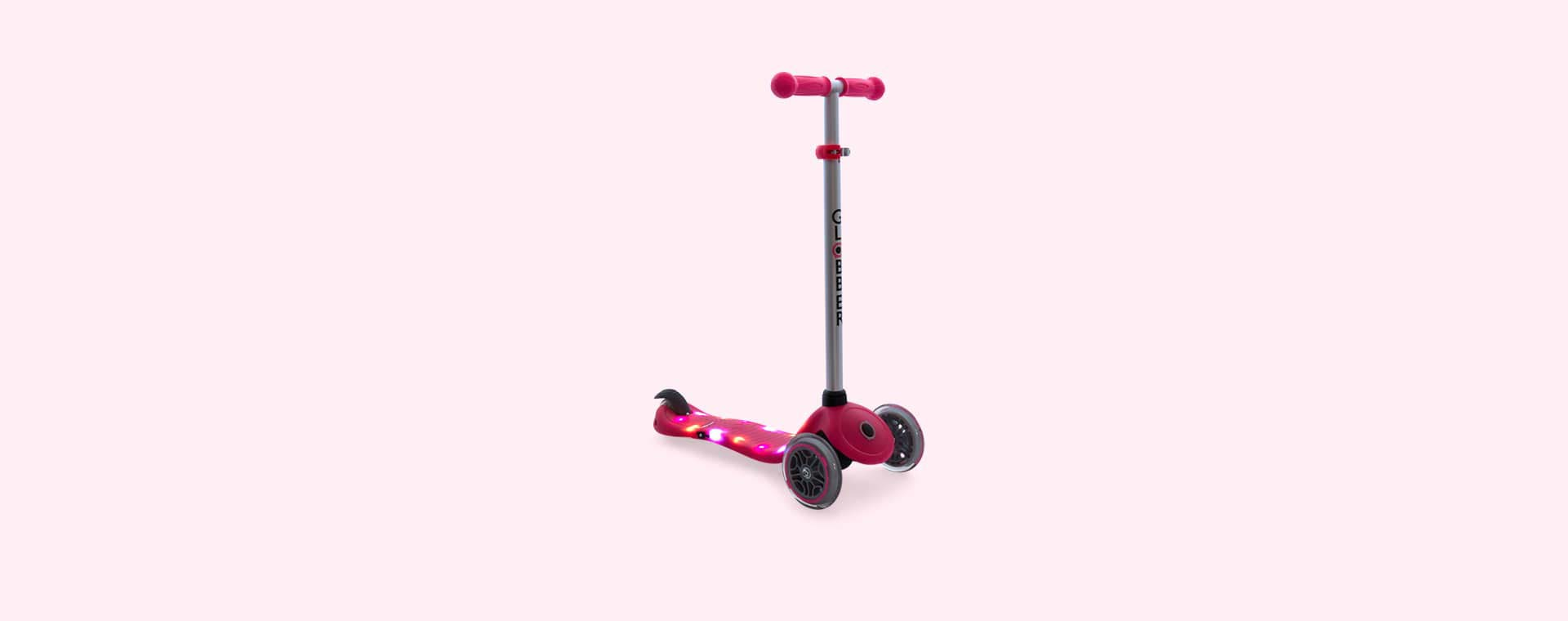 Deep Pink Globber Globber Primo Starlight Scooter