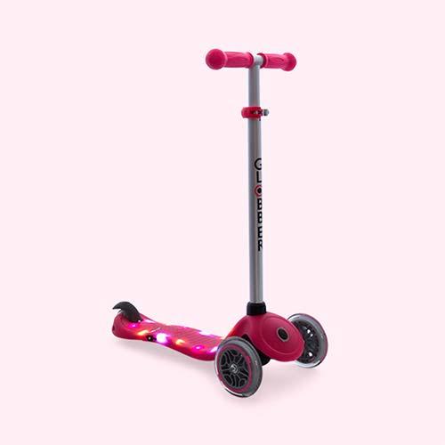 Deep Pink Globber Globber Primo Starlight Scooter