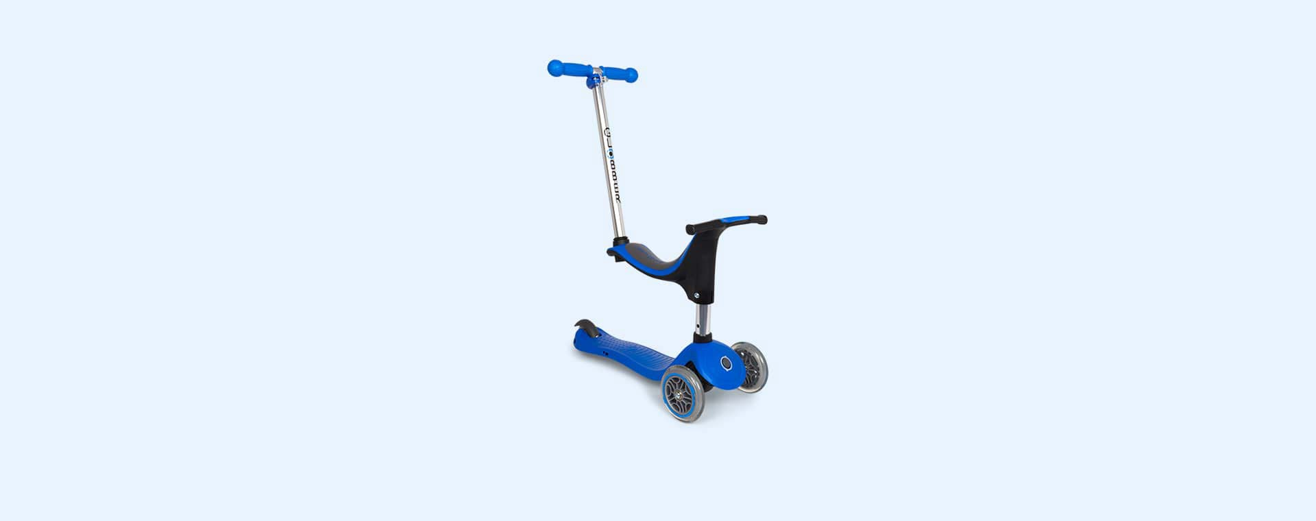 Navy Blue Globber Evo 4-in-1 Scooter