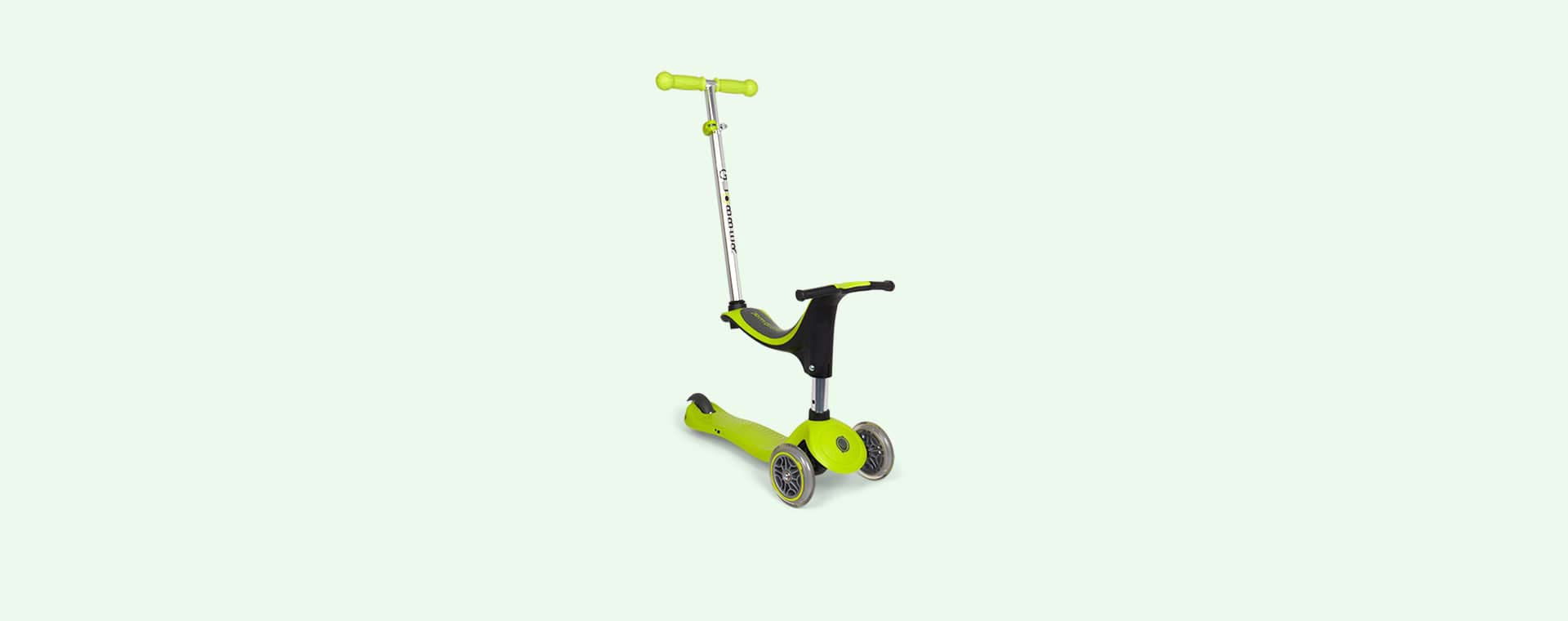 Lime Green Globber Evo 4-in-1 Scooter