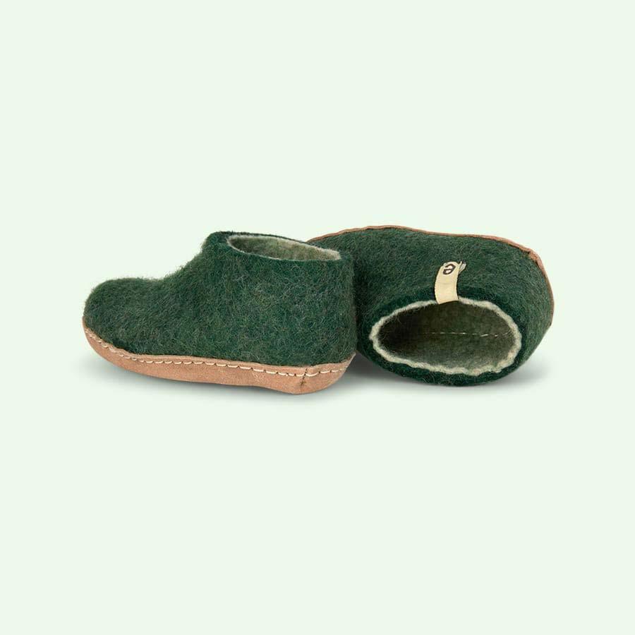Green Egos Copenhagen Slipper Shoe