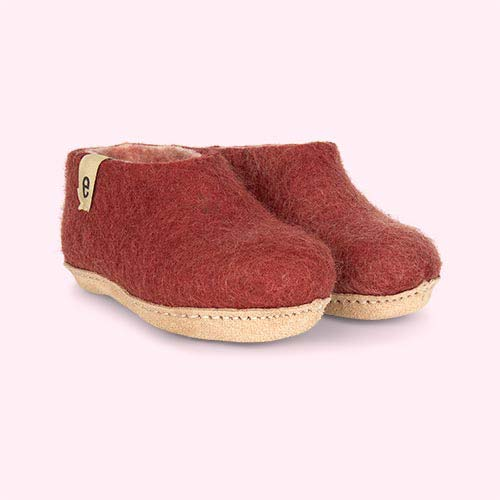 Dusty Rose Egos Copenhagen Slipper Shoe