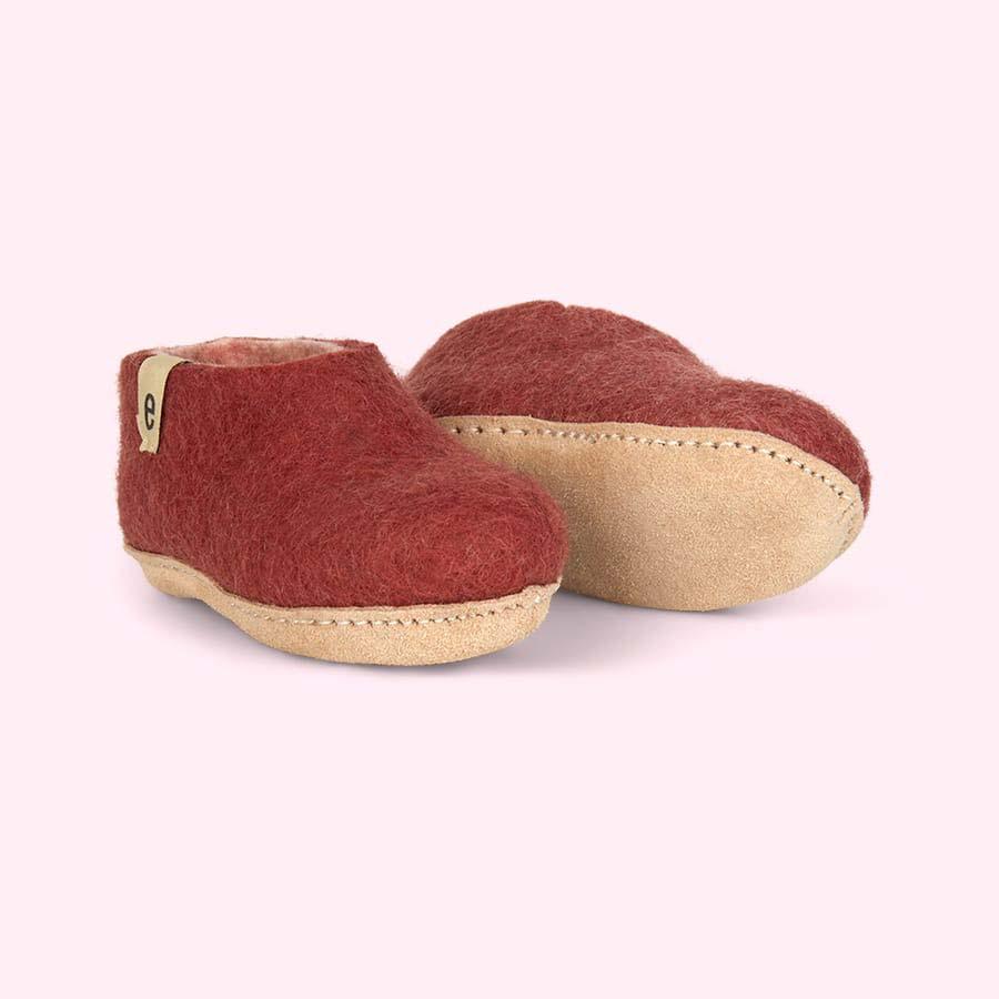 Dusty Rose Egos Copenhagen Slipper Shoe