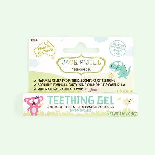 Multi JACK N' JILL Natural Teething Gel