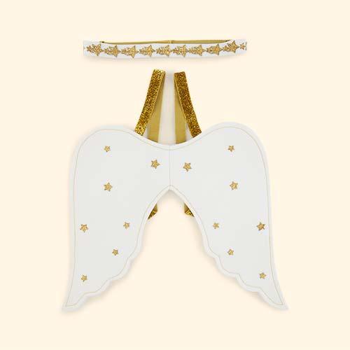 Cream Meri Meri Little Angel Dress Up kit
