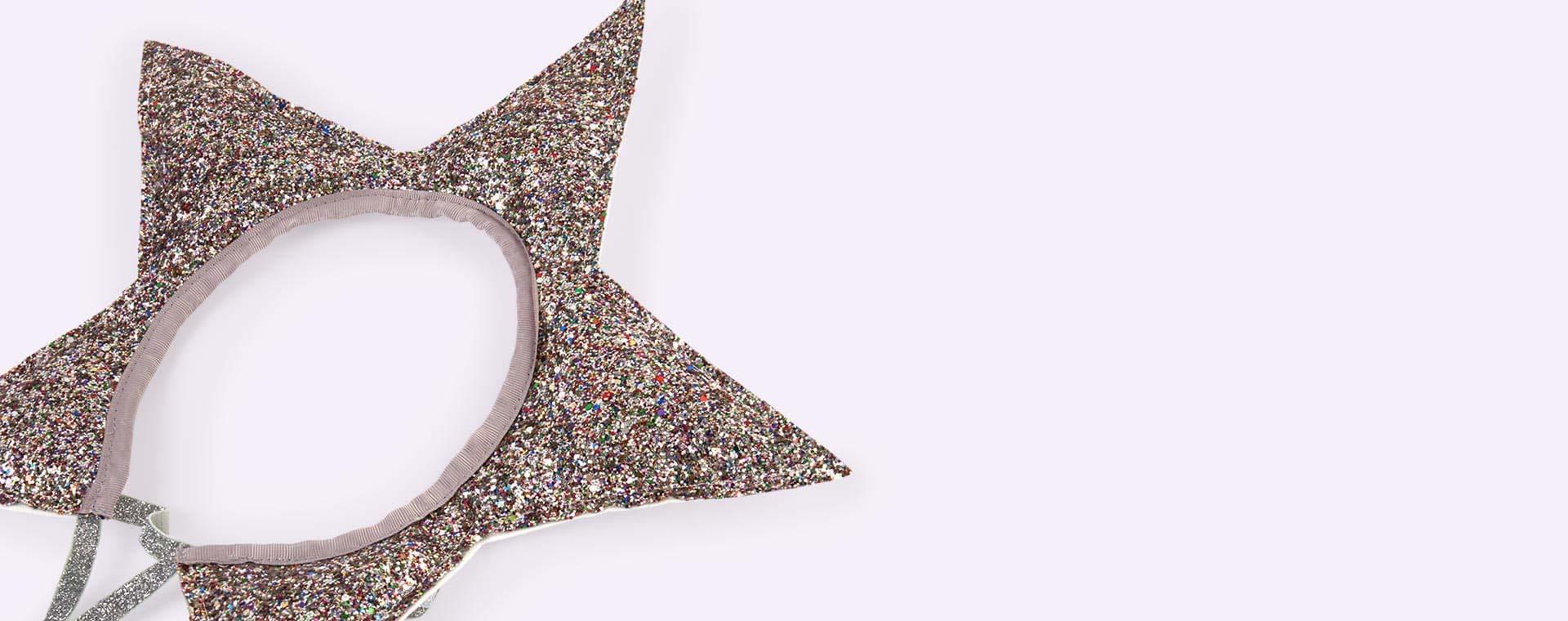 Silver Glitter Meri Meri Star Headdress