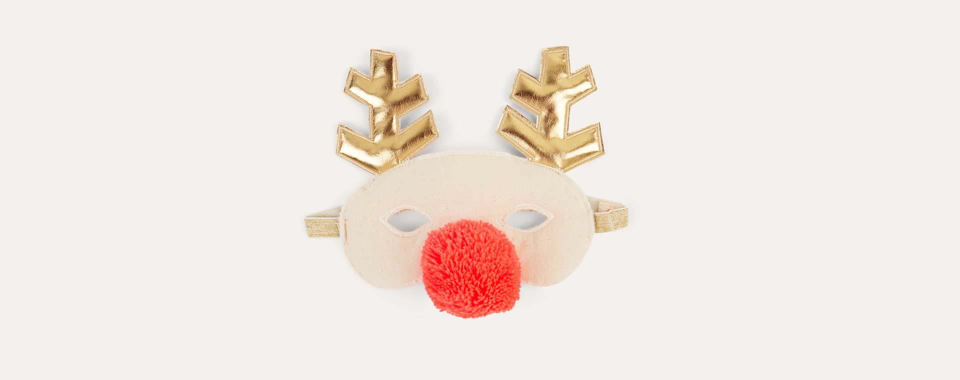 Neutral Meri Meri Reindeer Fabric Mask