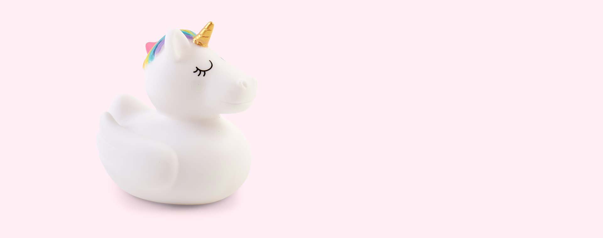 White Sunnylife Unicorn Rubber Ducky