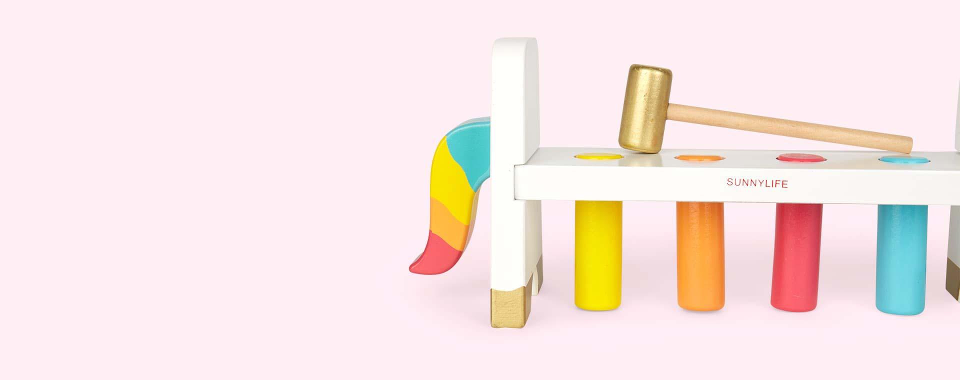 Multi Sunnylife Unicorn Hammer Bench