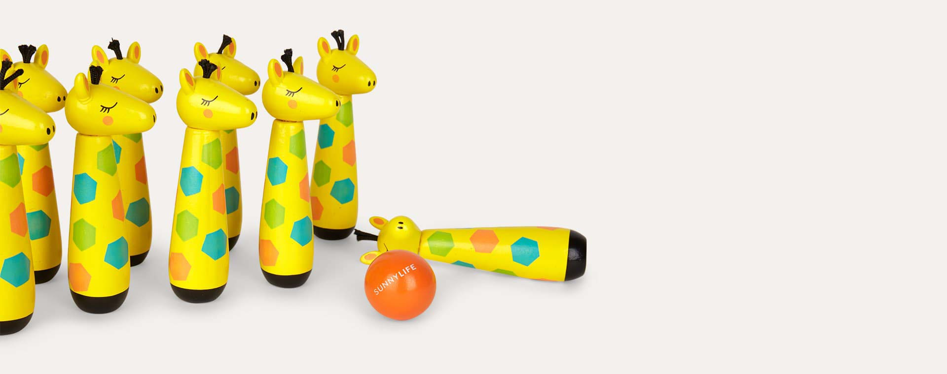 Yellow Sunnylife Giraffe Skittles