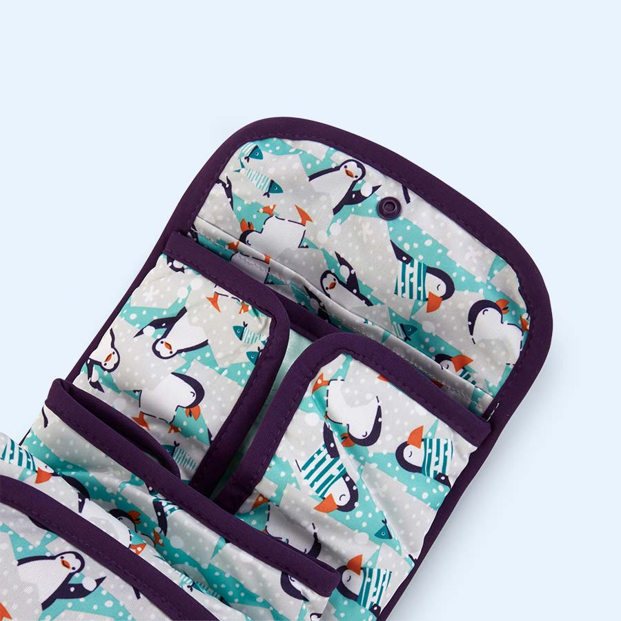 Penguin Close Pop-In Change And Go Mat