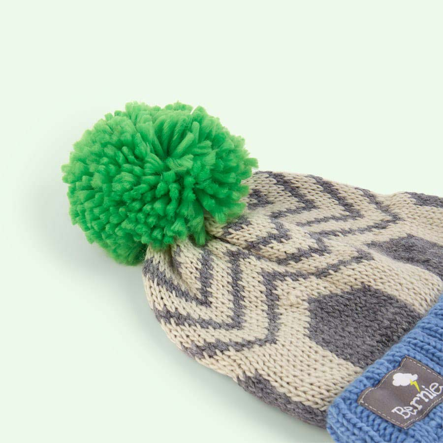 Blade Green Bernie and The Beanpole Bobble Hat