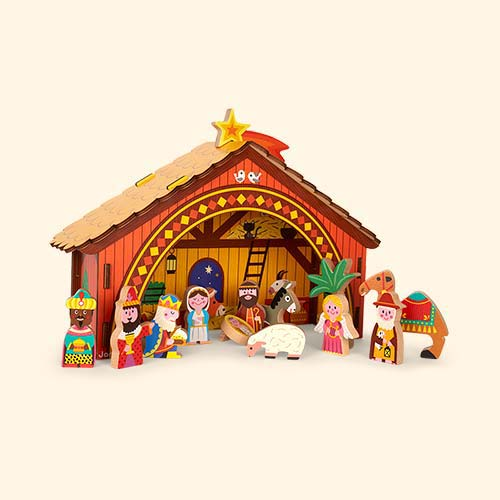 Multi Janod Nativity Scene