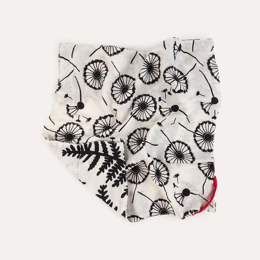 Fern/Dandelion Etta Loves Muslin Washcloth