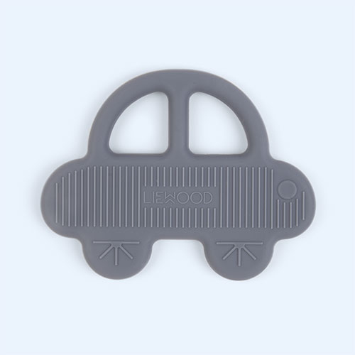 Car Blue Wave Liewood Gemma Silicone Teether