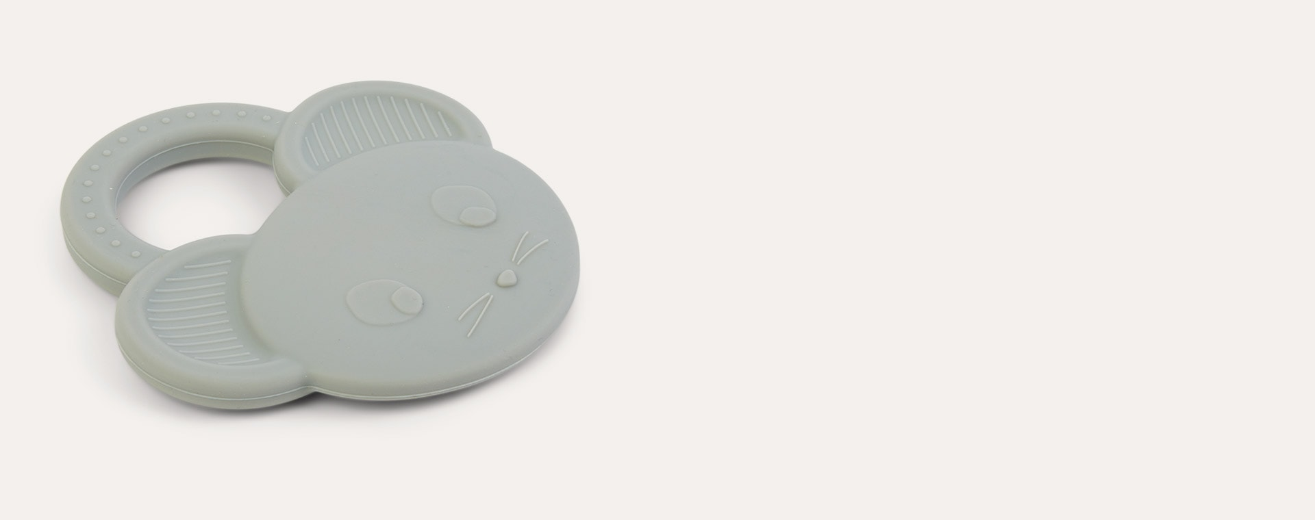 Mouse Dove Blue Liewood Gemma Silicone Teether