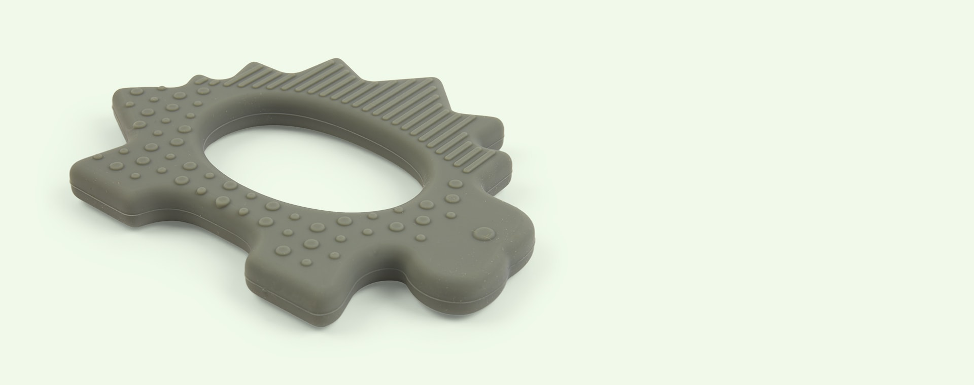Dino Faune Green Liewood Gemma Silicone Teether