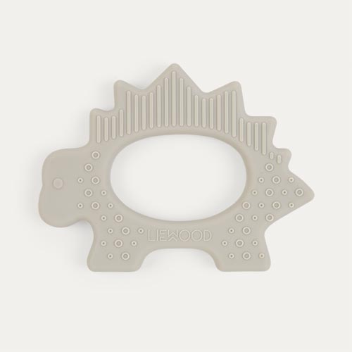 Dino Dumbo Grey Liewood Gemma Silicone Teether
