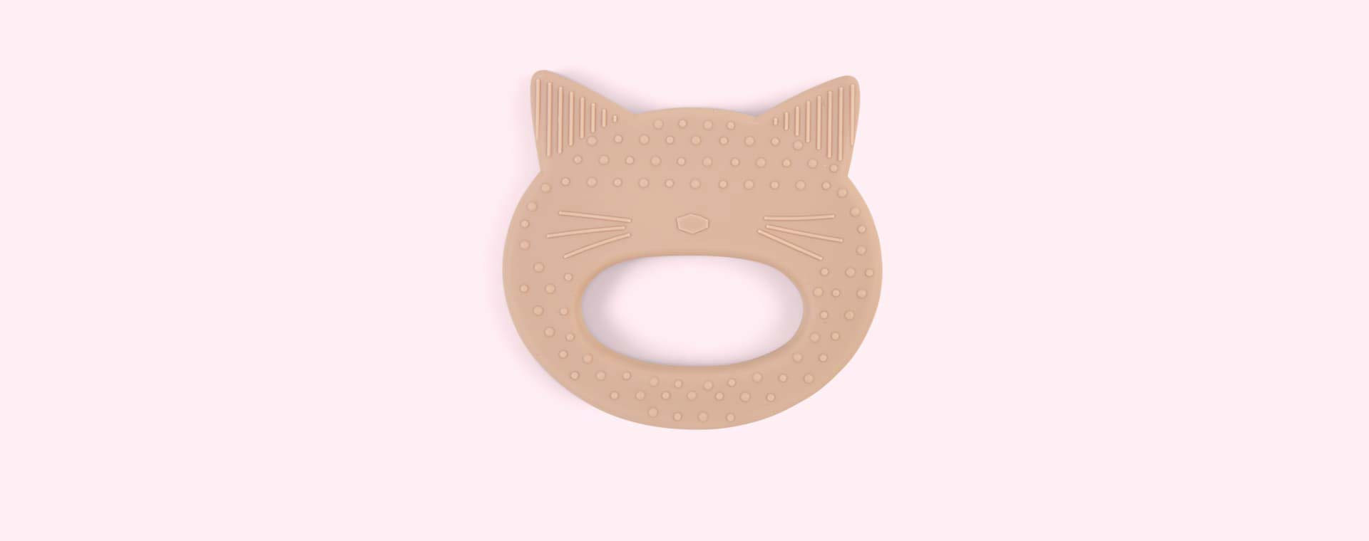 Cat Rose Liewood Gemma Silicone Teether