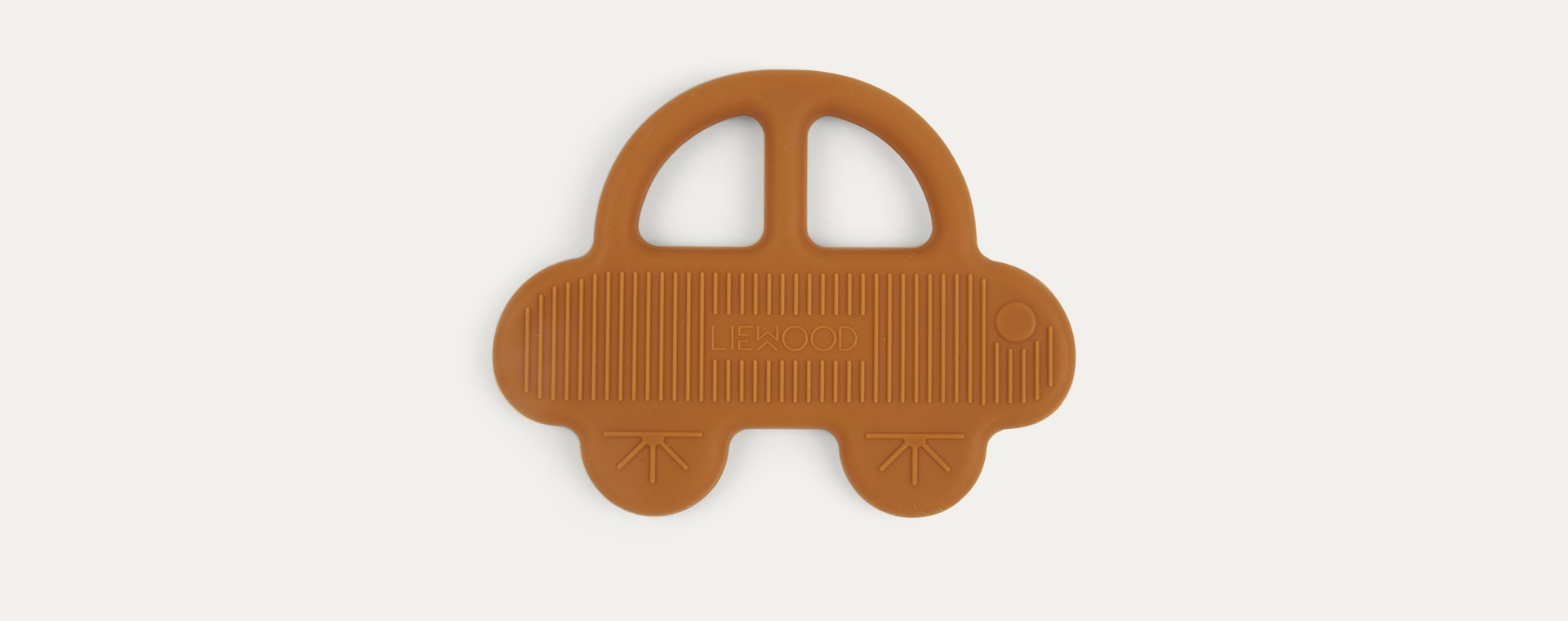 Car Mustard Liewood Gemma Silicone Teether