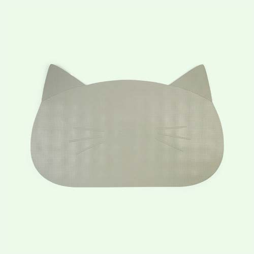 Cat Dusty Mint Liewood Non Slip Cat Bathmat