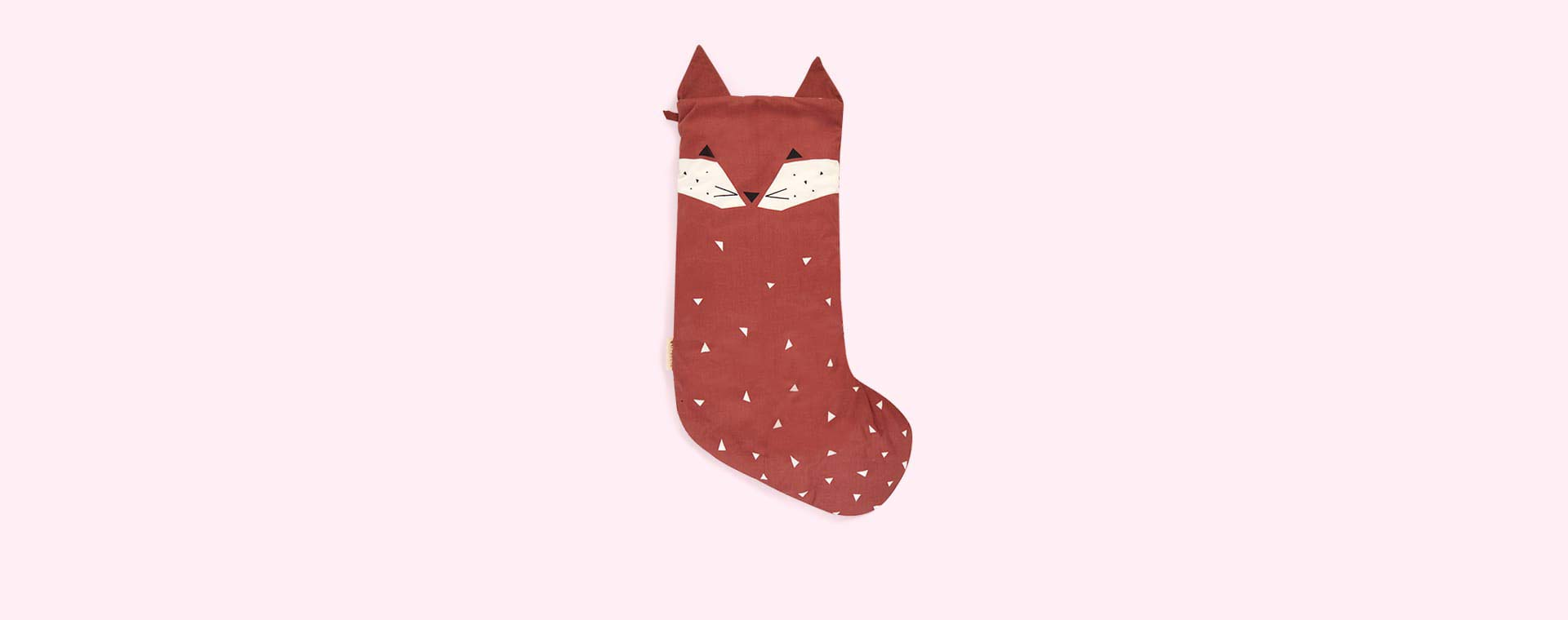 Red Fabelab Christmas Animal Stocking Friendly Fox
