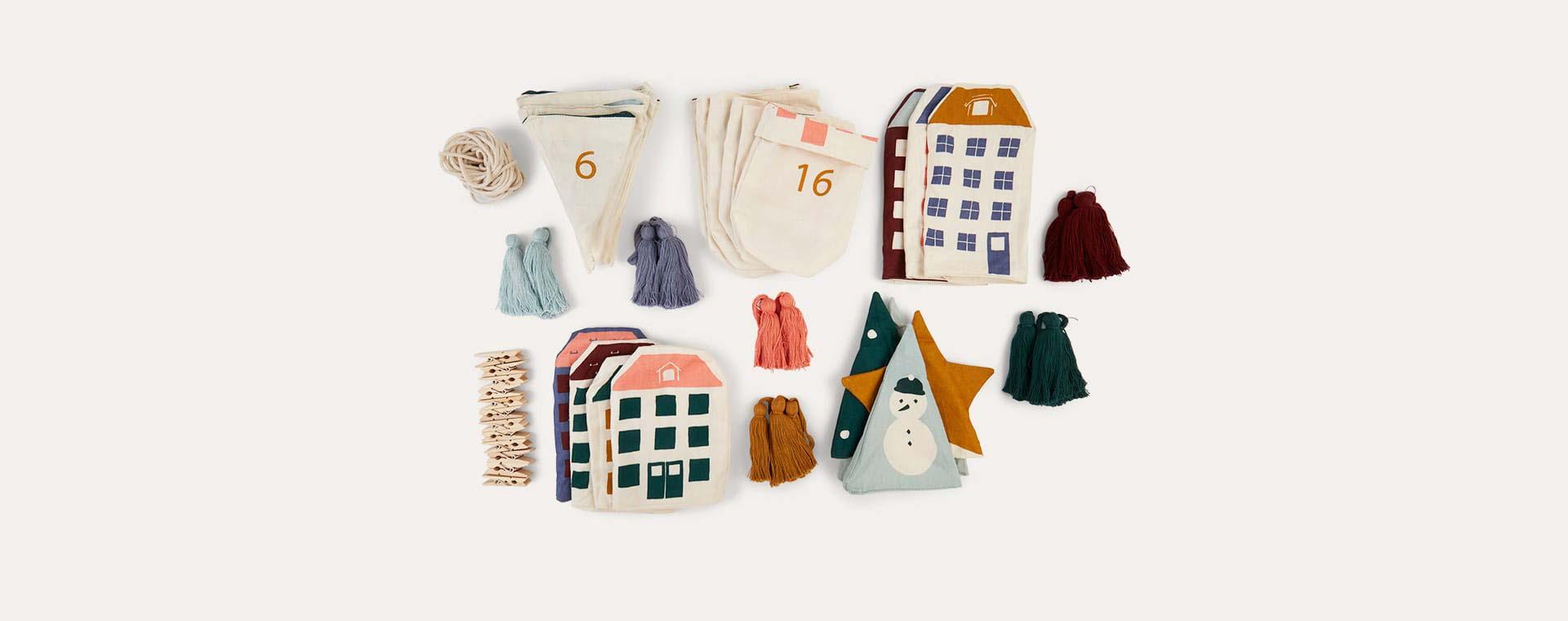 Multi Fabelab Christmas Calendar Garland