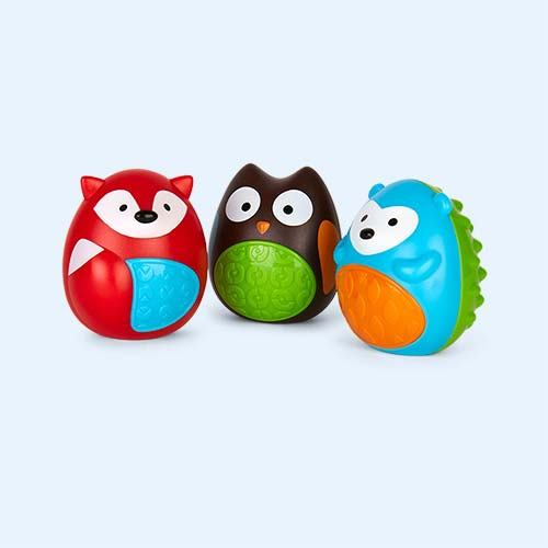 Multi Skip Hop Egg Shaker Trio Set