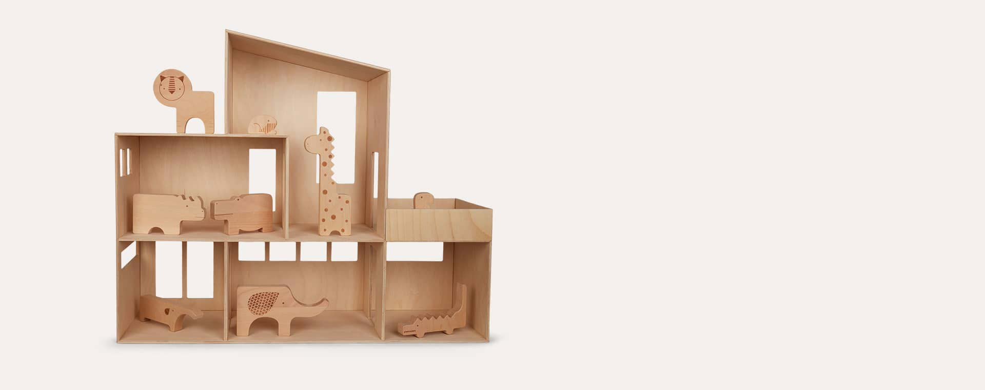 Neutral Ferm Living Miniature Funkis House - Large
