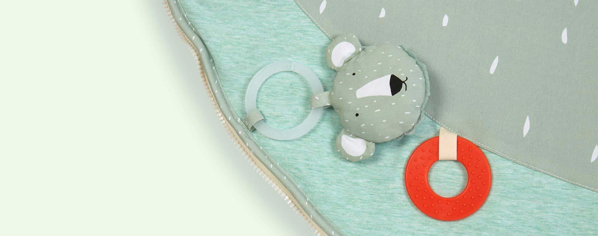 Polar Bear Trixie Playmat with Arches
