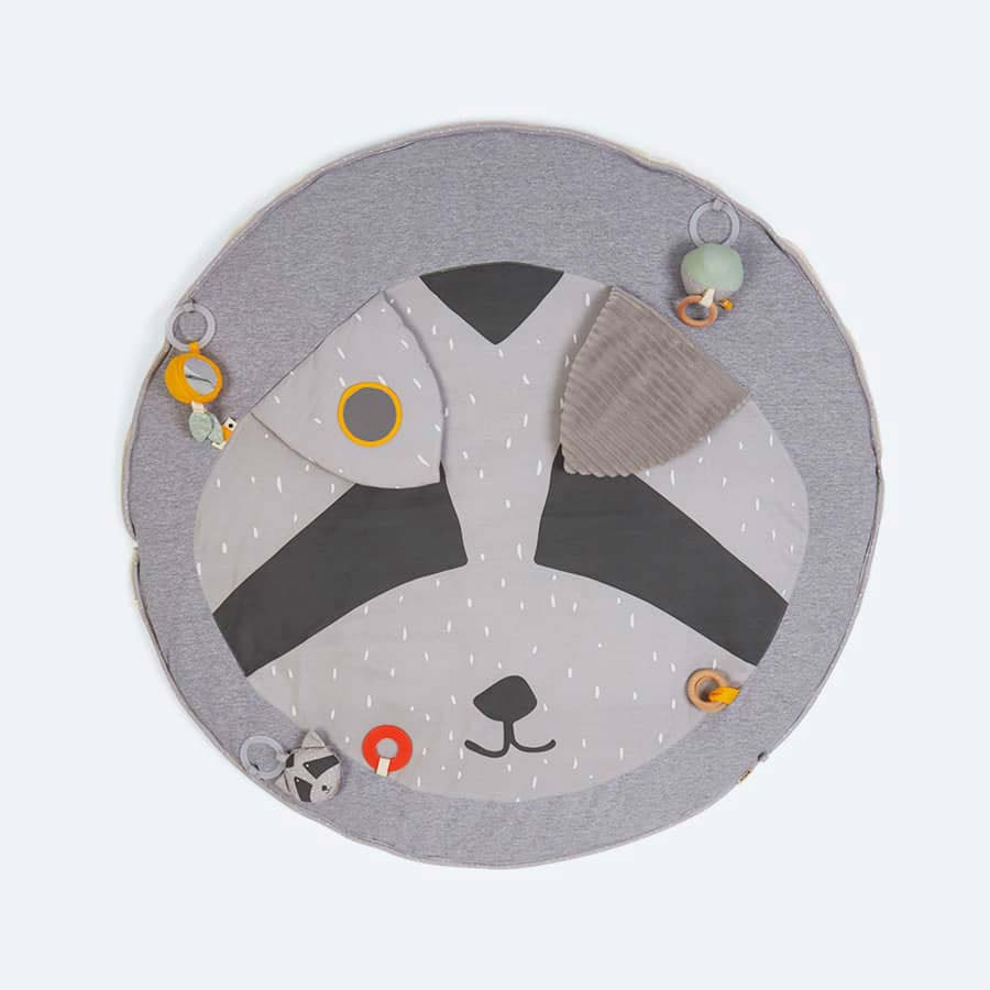Racoon Trixie Playmat with Arches