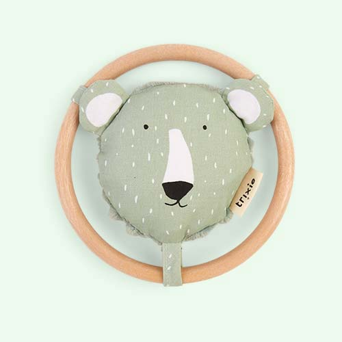 Polar Bear Trixie Rattle
