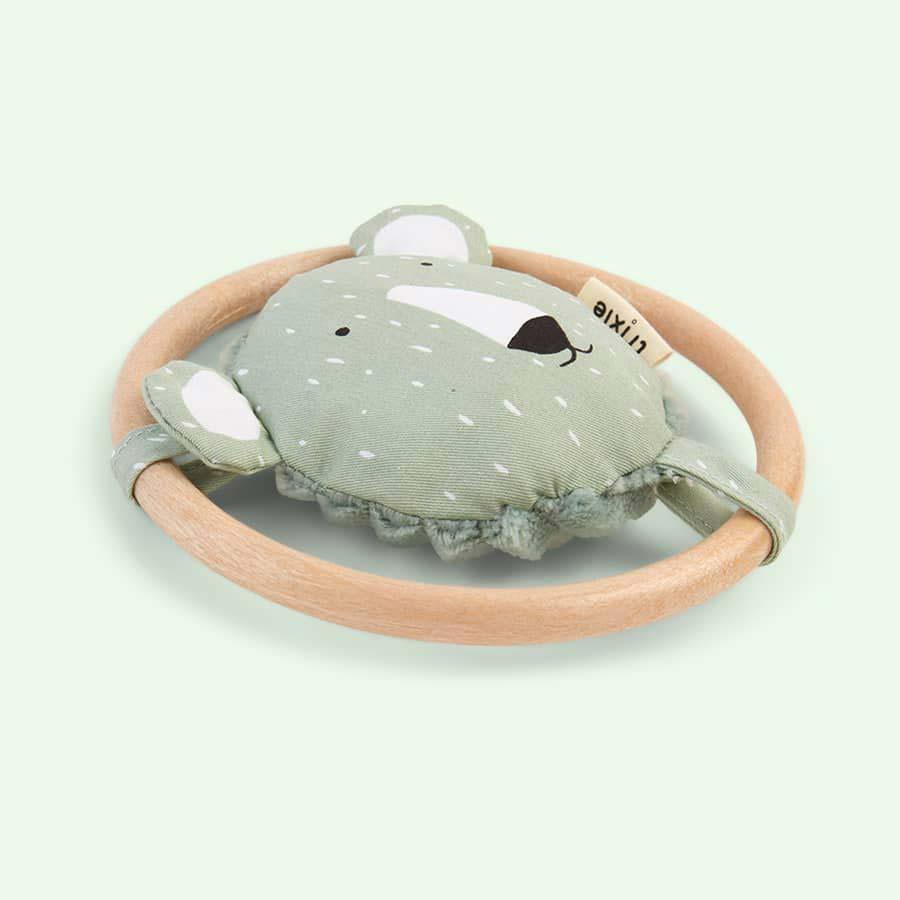 Polar Bear Trixie Rattle