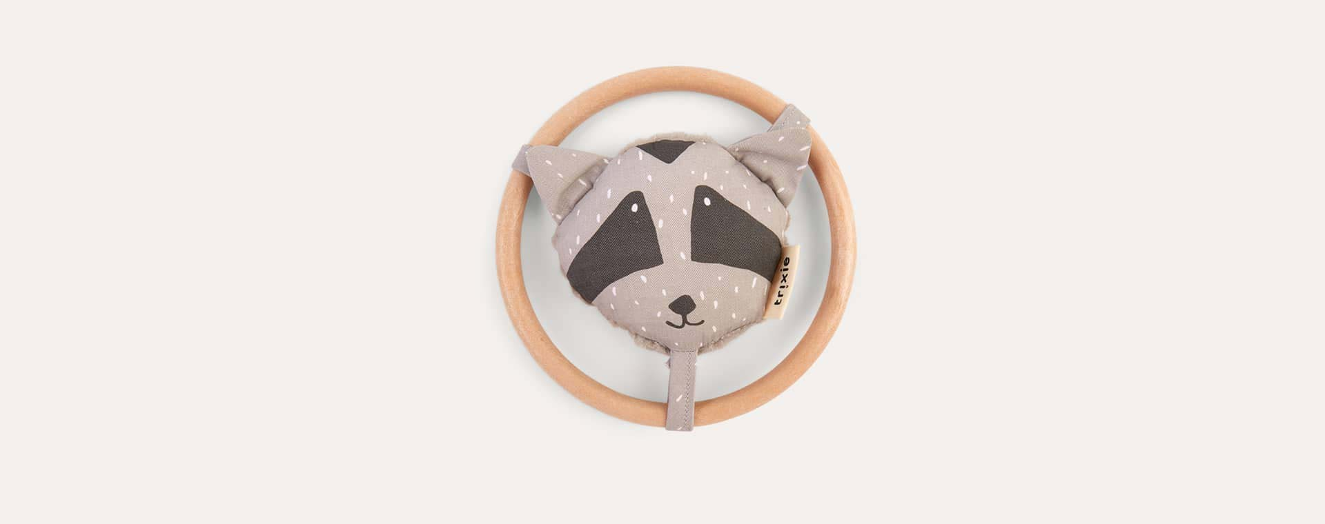 Racoon Trixie Rattle