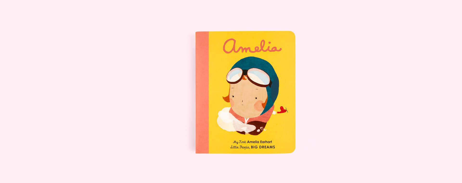 Yellow bookspeed Little People, Big Dreams : Amelia Board Book