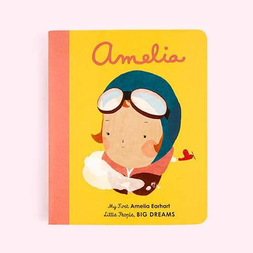 Yellow bookspeed Little People, Big Dreams : Amelia Board Book