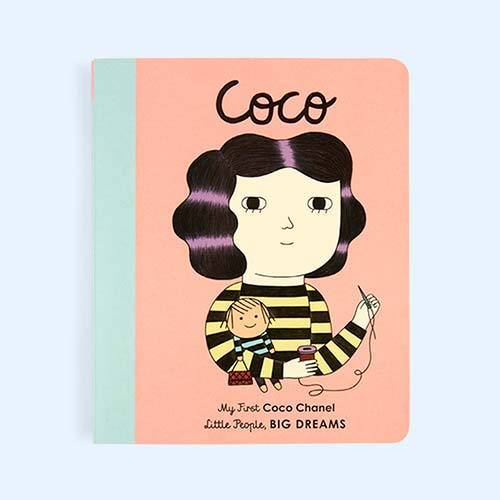 Pink bookspeed Little People, Big Dreams: Coco Board Book