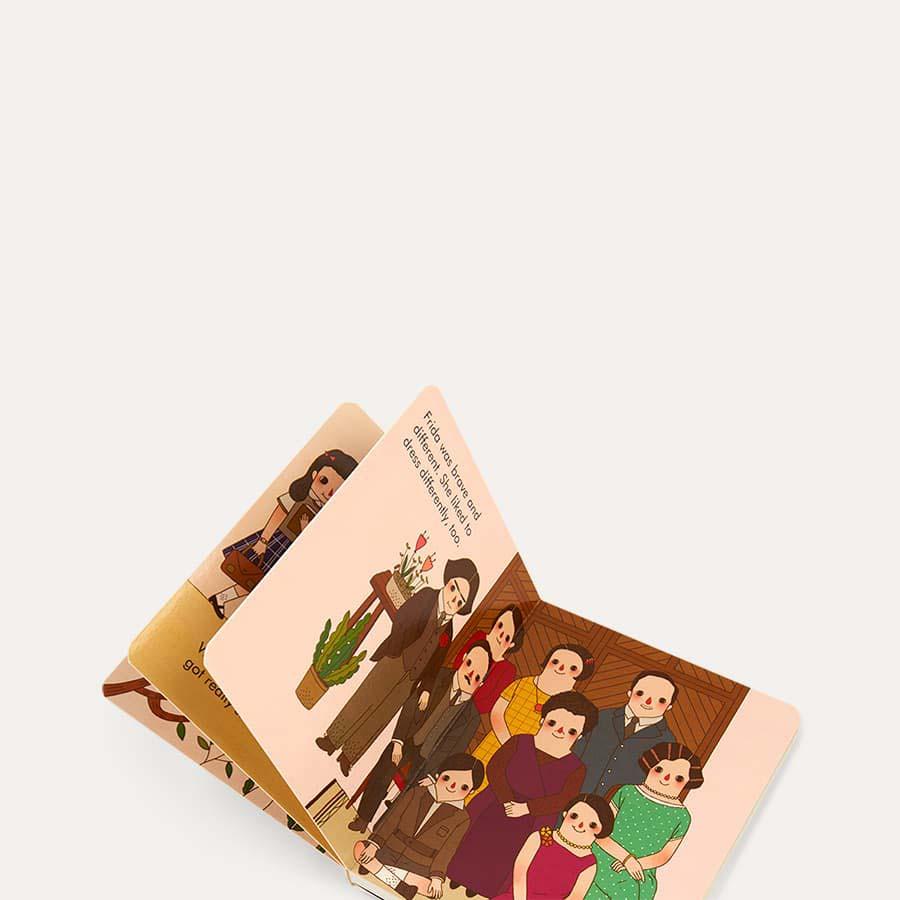 Green bookspeed Little People, Big Dreams: Frida