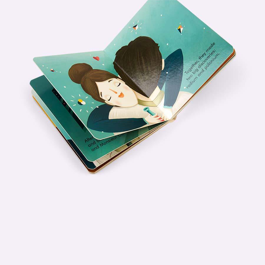 Blue bookspeed Little People, Big Dreams: Marie
