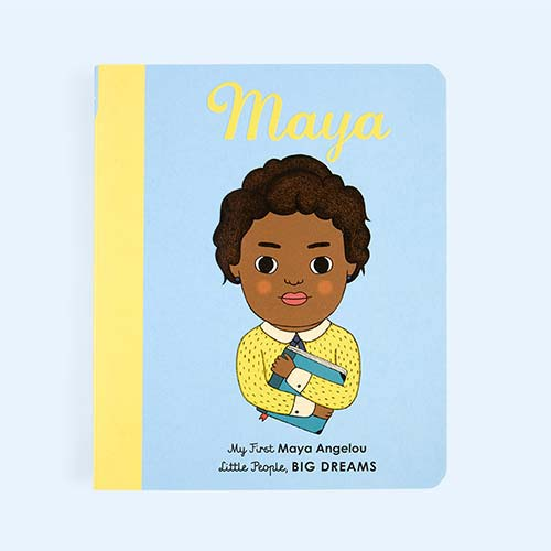 Blue bookspeed Little People, Big Dreams: Maya