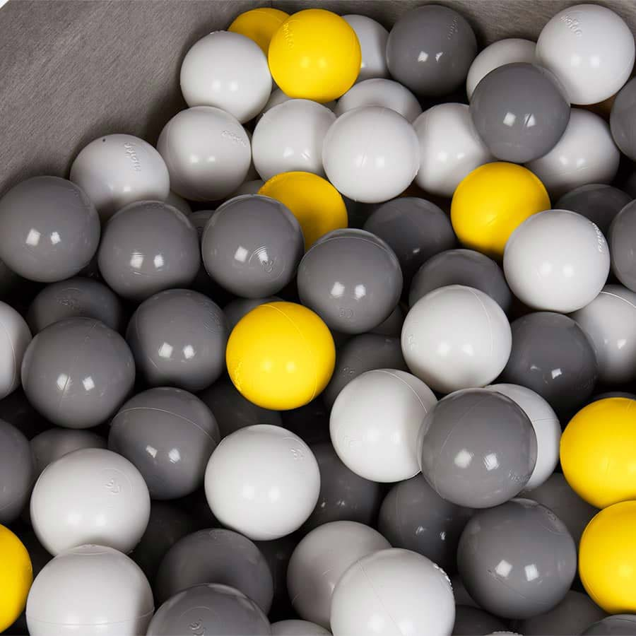 Light Grey Misioo Square Ball Pit