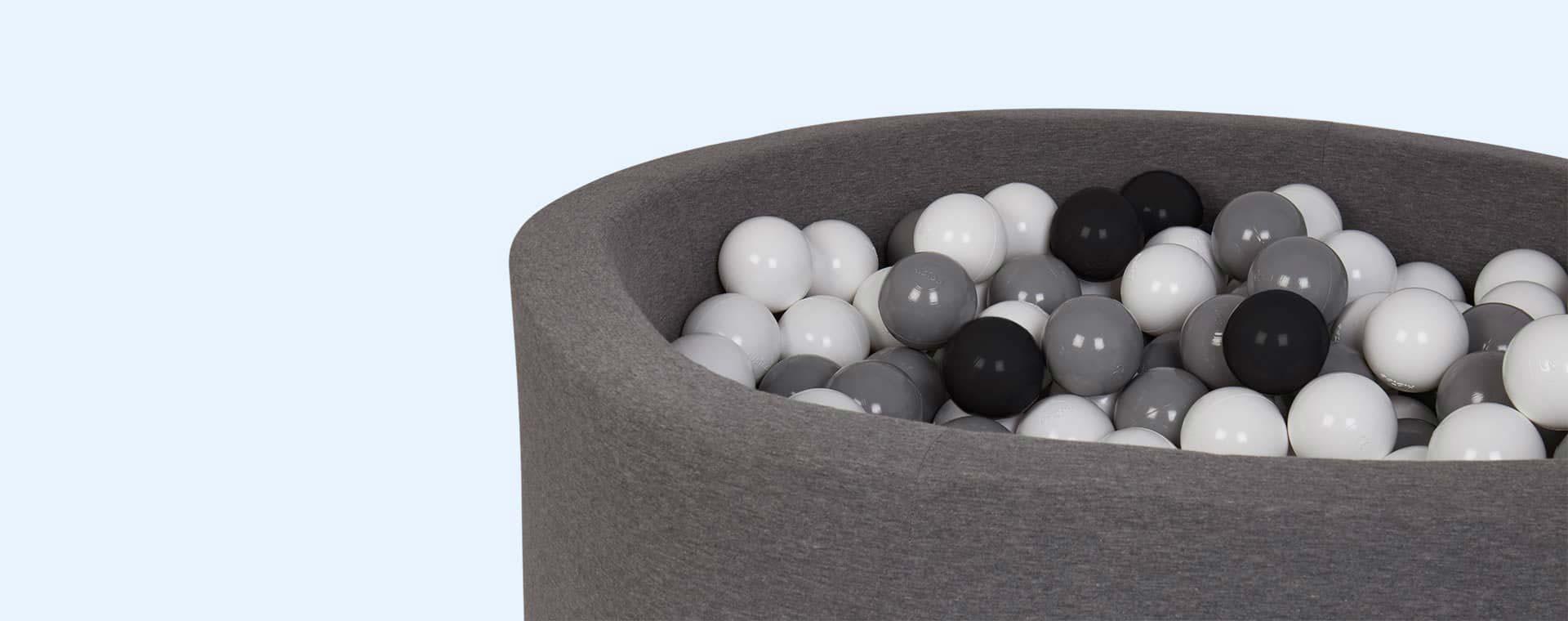 Grey Misioo Circle Ball Pit