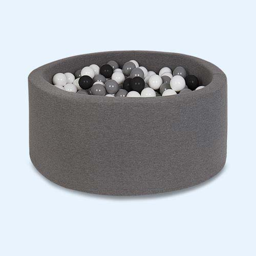 Grey Misioo Circle Ball Pit