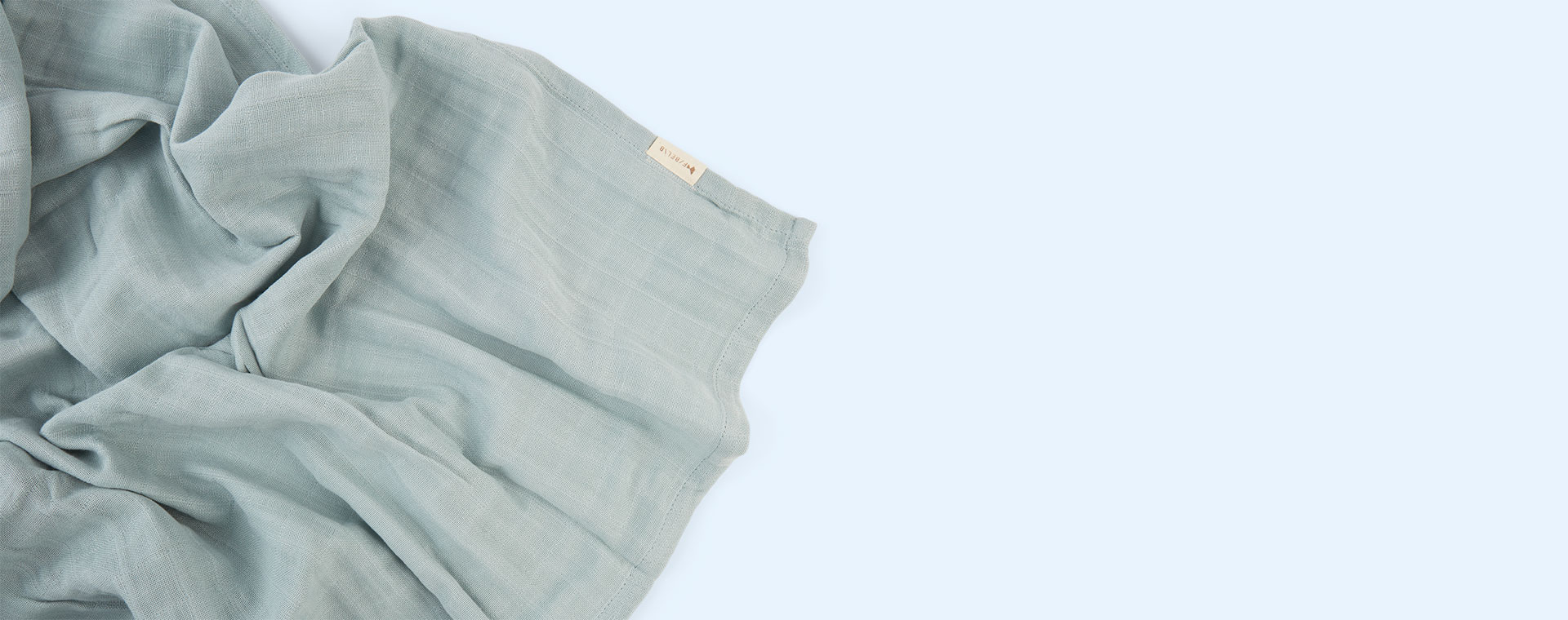 Foggy Blue Fabelab Swaddle