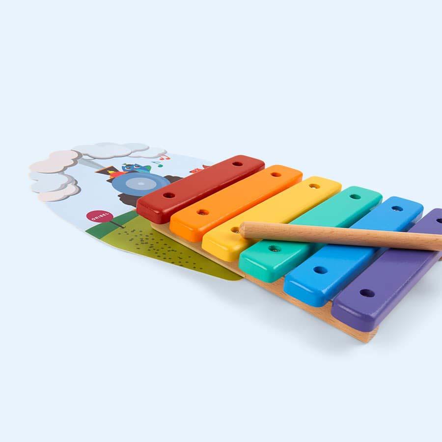 Multi Oribel Vertiplay Railtrack Xylophone